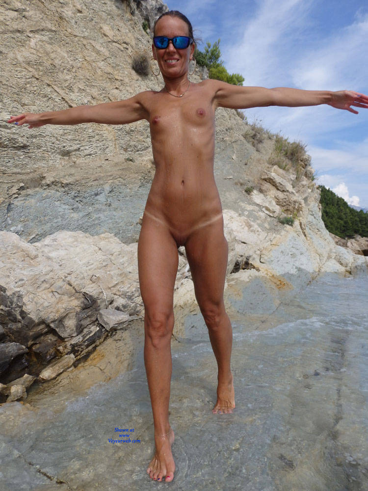 Pic #1Mimice - Wife/wives, Small Tits, Outdoors, Beach, Shaved