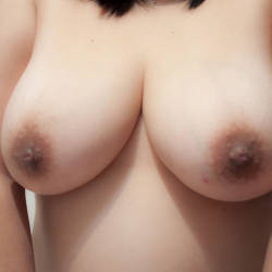 Large tits of my wife - Neko