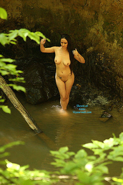 Pic #1Models In Nature - Big Tits, Brunette, Outdoors, Nature