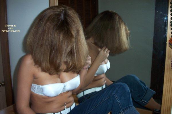 Pic #1 Mirror Shots Of Pierced Jewel