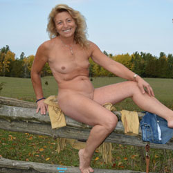 More Of Fall Colors - Blonde, Outdoors, Small Tits
