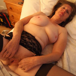 My Boudoir - Explicit Stuff - Wives In Lingerie, Blowjob, Pussy Hair, Mature Pussy