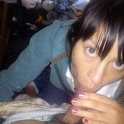 Carita Caliente - Blowjob, Latina