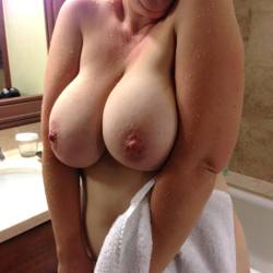 Extremely Large Tits Of My Wife Ukwifelover