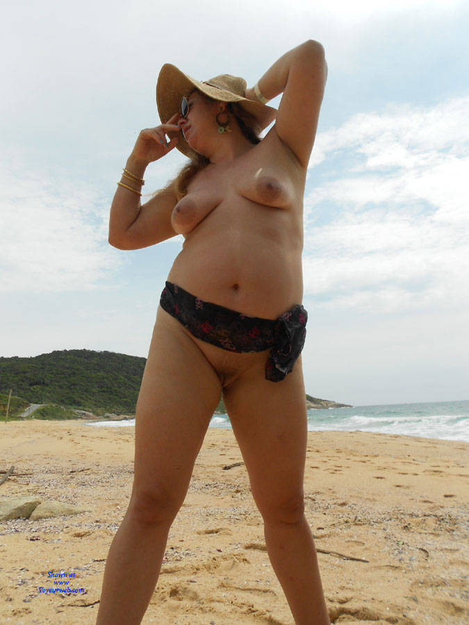 What lovely my wife nude beach she