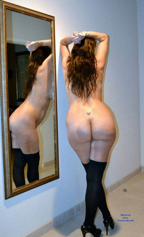 Pic #1Hotel Fun Pics - Big Tits, Brunette, High Heels Amateurs