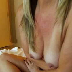 Medium tits of my wife - Alex