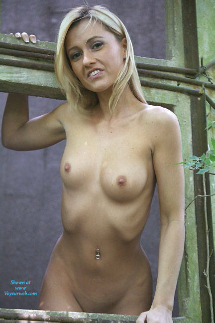 Pic #1Abandoned Silo - Shaved, Outdoors, Blonde, Firm Ass
