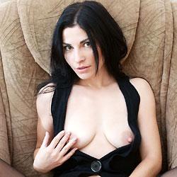 Vilena - Big Tits, Brunette, Shaved