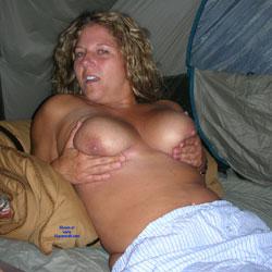 Grabbing Her Tits - Big Tits, Amateur