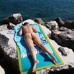 Nudist Beach - Beach, Outdoors, Firm Ass, Gf