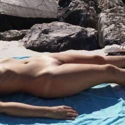 Medium tits of my girlfriend - Kate