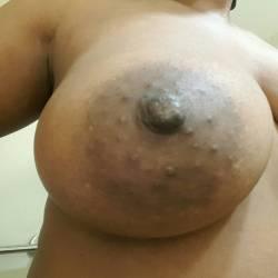 Medium tits of my girlfriend - CeCe