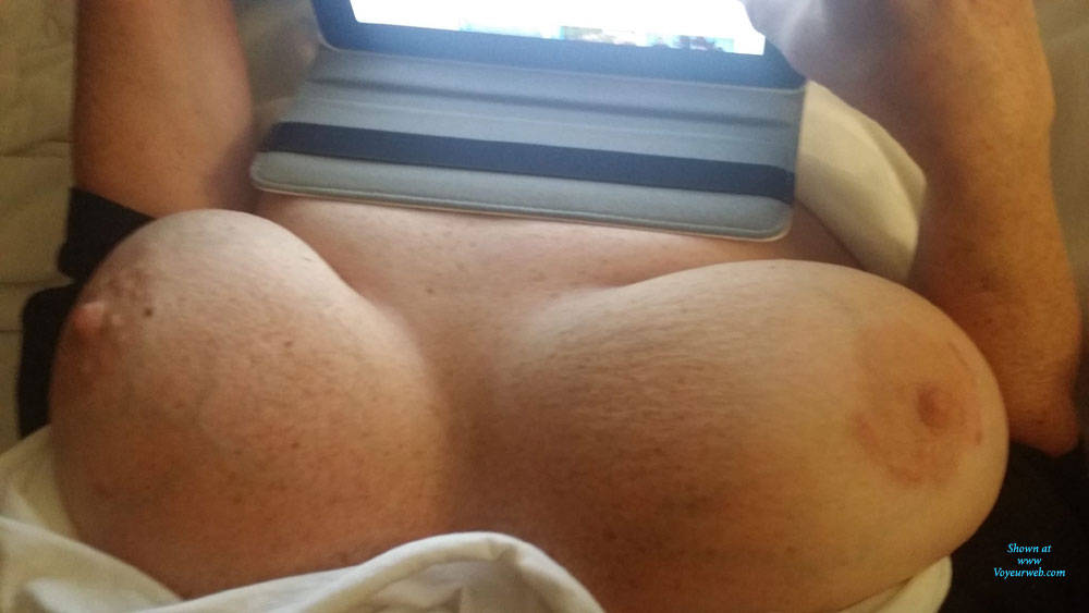 Pic #1 Various Looks Of This Big Tittied Woman - Big Tits, Amateur