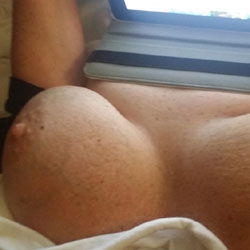 Various Looks Of This Big Tittied Woman - Big Tits, Amateur