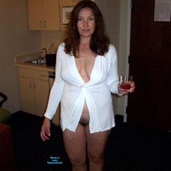 Pool Boy Needed? - Brunette, High Heels Amateurs, Amateur
