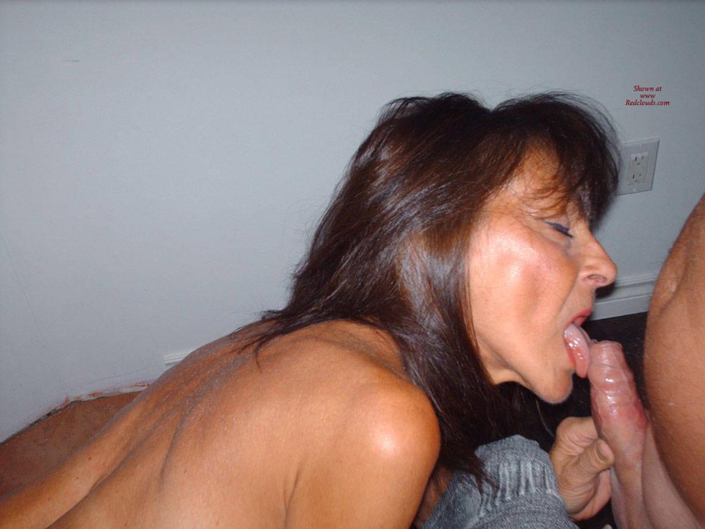 Pic #1Sylvia Blowjob - Mature, Blowjob, Brunette, Amateur