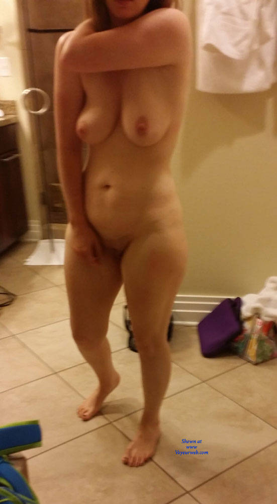 Pic #1 Shy MILF Naked In Bathroom  - Wife/wives, Amateur