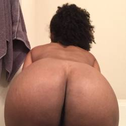 My wife's ass - Ebony babe