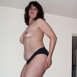 My Fun Strip - Big Tits, Brunette, Striptease, Bush Or Hairy