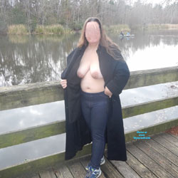 Lakeside Pics - Big Tits, Outdoors, Wife/wives