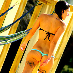 Caribe - Outdoors, Bikini Voyeur, Tattoos, Beach Voyeur
