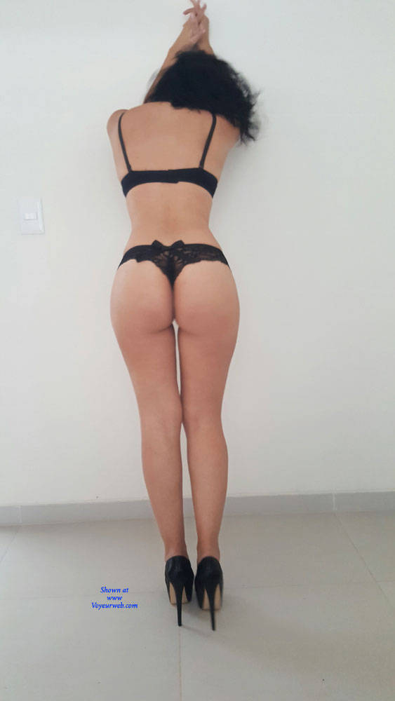 Pic #1Sexy Ass - Brunette, High Heels Amateurs, Lingerie, Firm Ass, Wife/wives