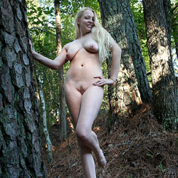 Naked Blonde In The Woods - Big Tits, Blonde Hair, Full Nude, Long Hair, Nude In Nature, Nude In Public, Nude Outdoors, Perfect Tits, Trimmed Pussy, Sexy Legs , Big Tits, Naked Girl, Woods, Blonde Girl, Trimmed Pussy