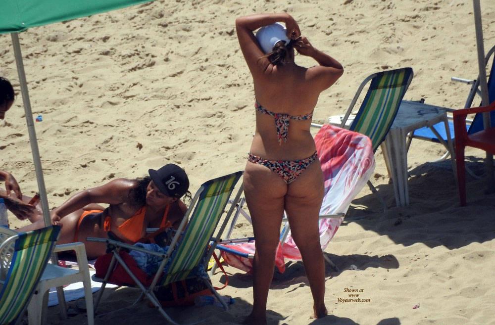 Pic #1Big Ass From Recife City, Brazil - Outdoors, Bikini Voyeur, Beach Voyeur