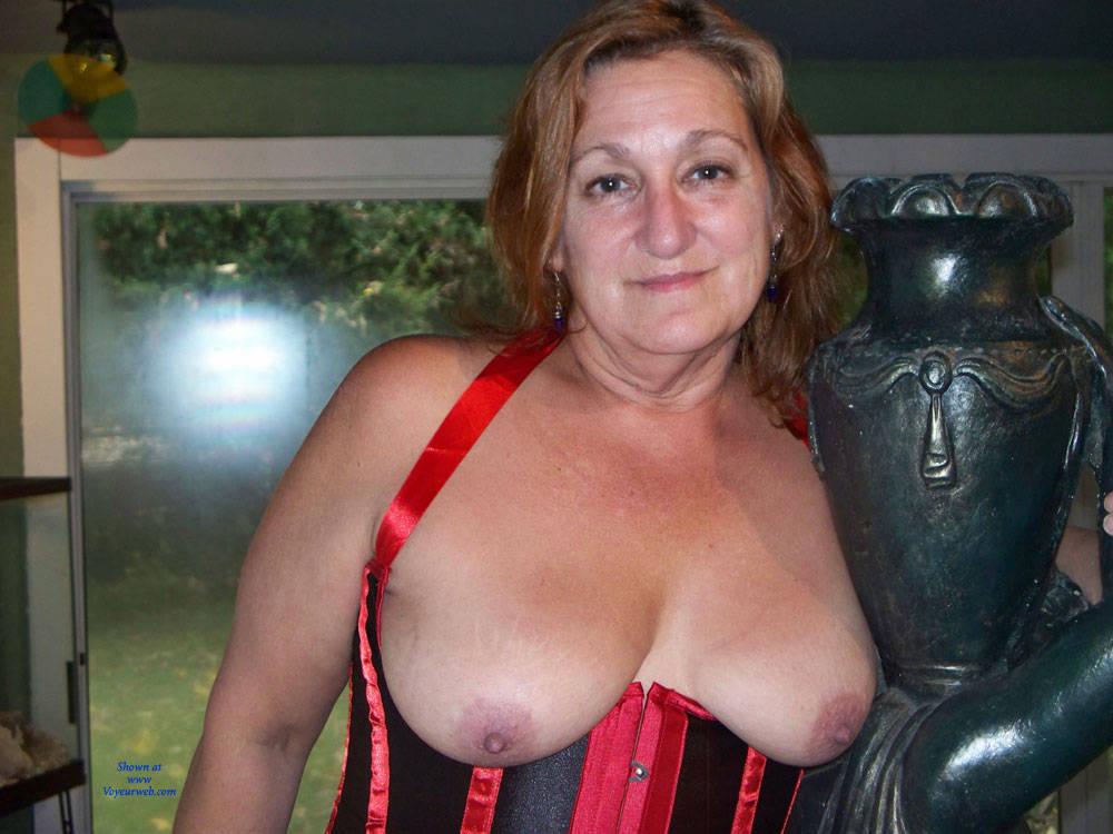 Pic #1Corset - Big Tits, Lingerie, Mature, Redhead, Amateur, Topless Amateurs