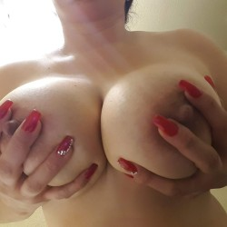 Large tits of my wife - Mrs.  C