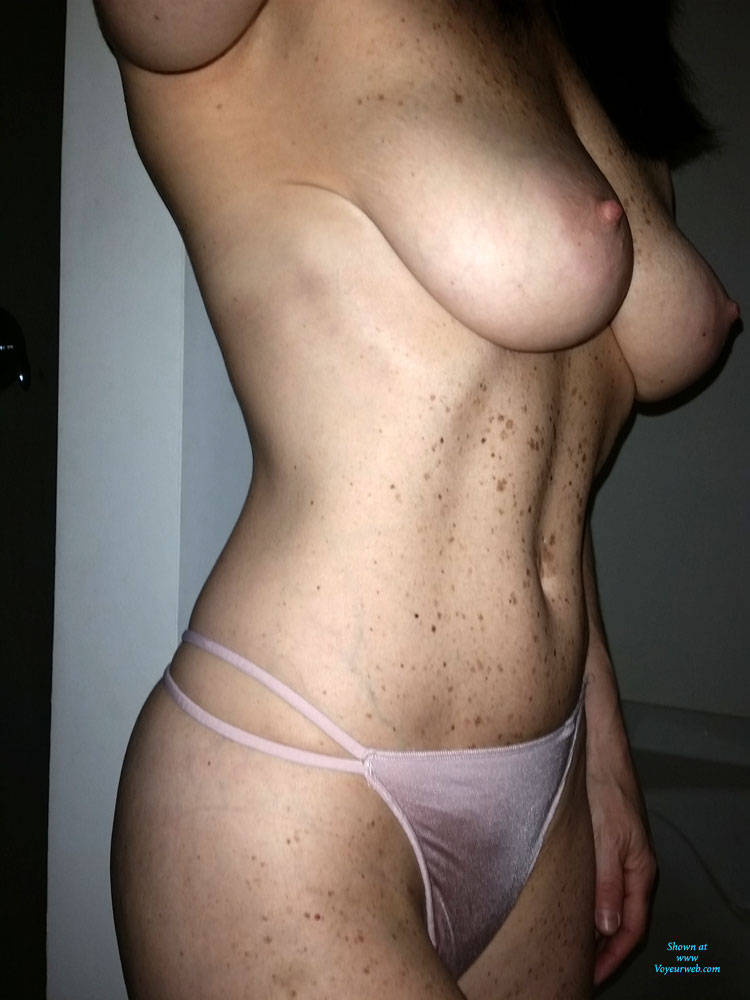 Pic #1 Pretty In Pink - Big Tits, Topless Amateurs