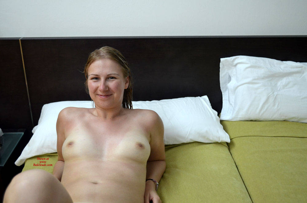 Nude nature blow job
