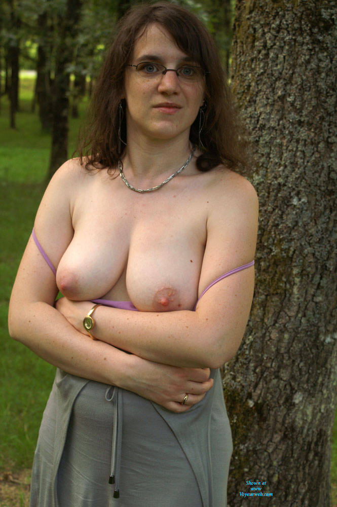 Pic #1On The Road To Vacations - Big Tits, Brunette, Bush Or Hairy, Amateur, Outdoors