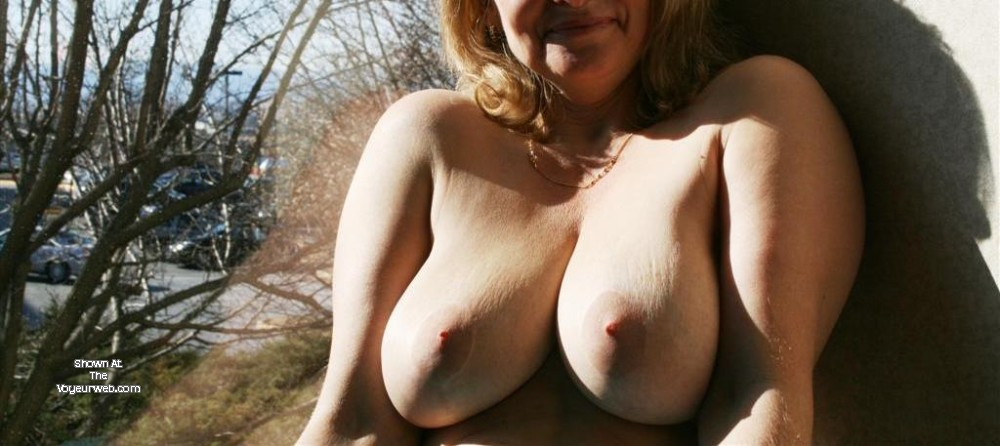 Pic #1 Large tits of my wife - Darla