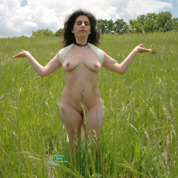 Naked In The High Grass - Big Tits, Brunette Hair, Exposed In Public, Full Nude, Nude In Nature, Nude In Public, Nude Outdoors, Pussy Lips, Shaved Pussy, Hairless Pussy, Naked Girl, Sexy Boobs, Sexy Legs , Brunette, Big Tits, Shaved Pussy, Nude, Naked, Outdoors, Natural Tits