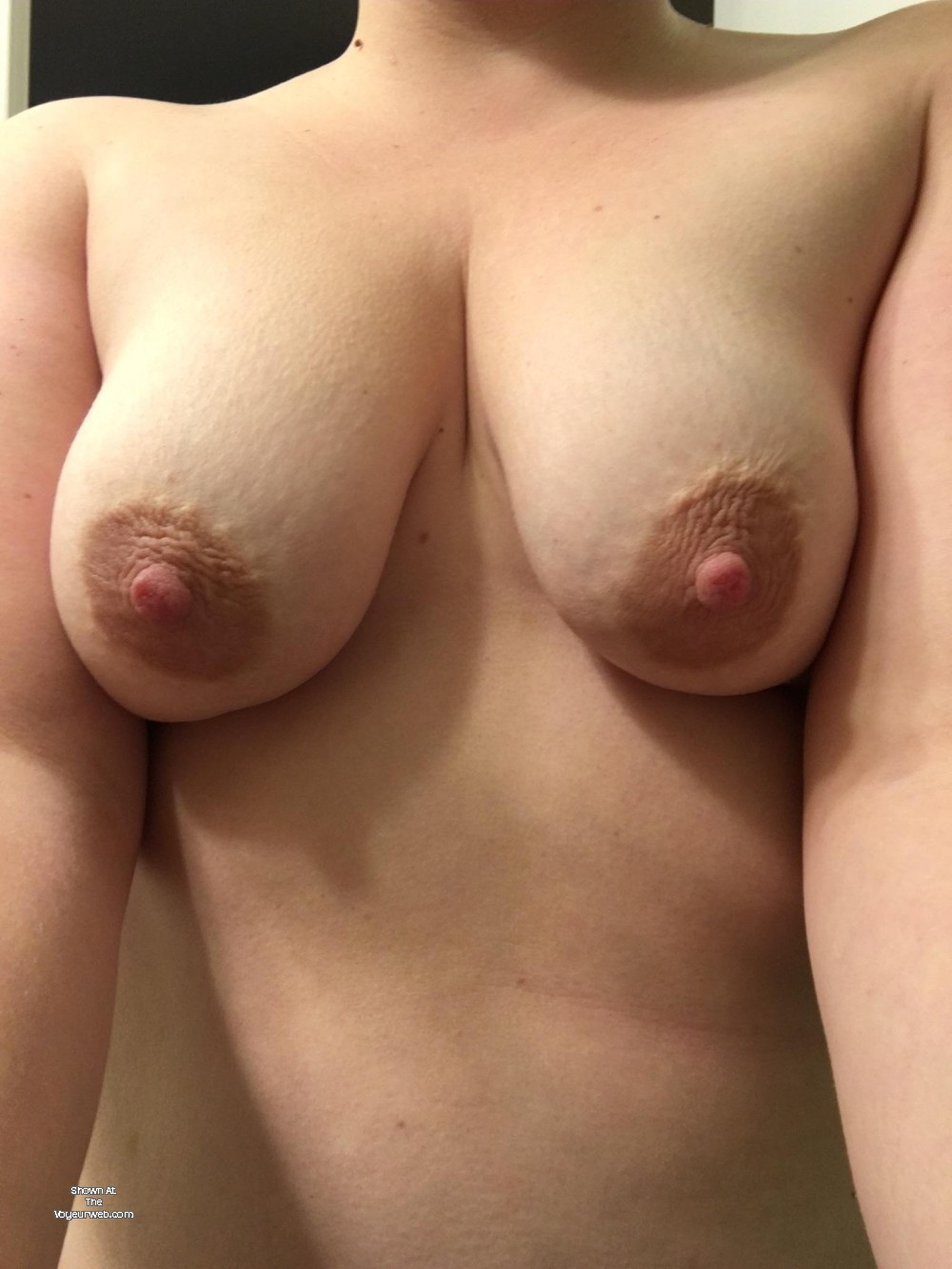 Pic #1 Medium tits of my wife - Aly84