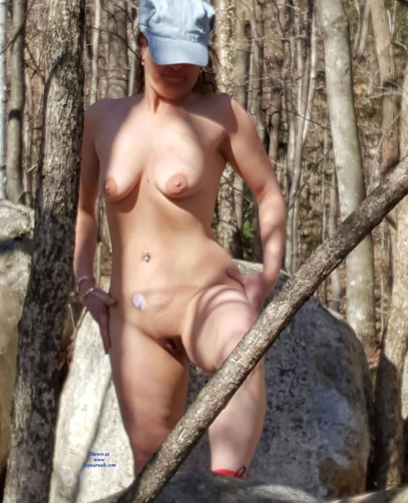 Milf outdoors