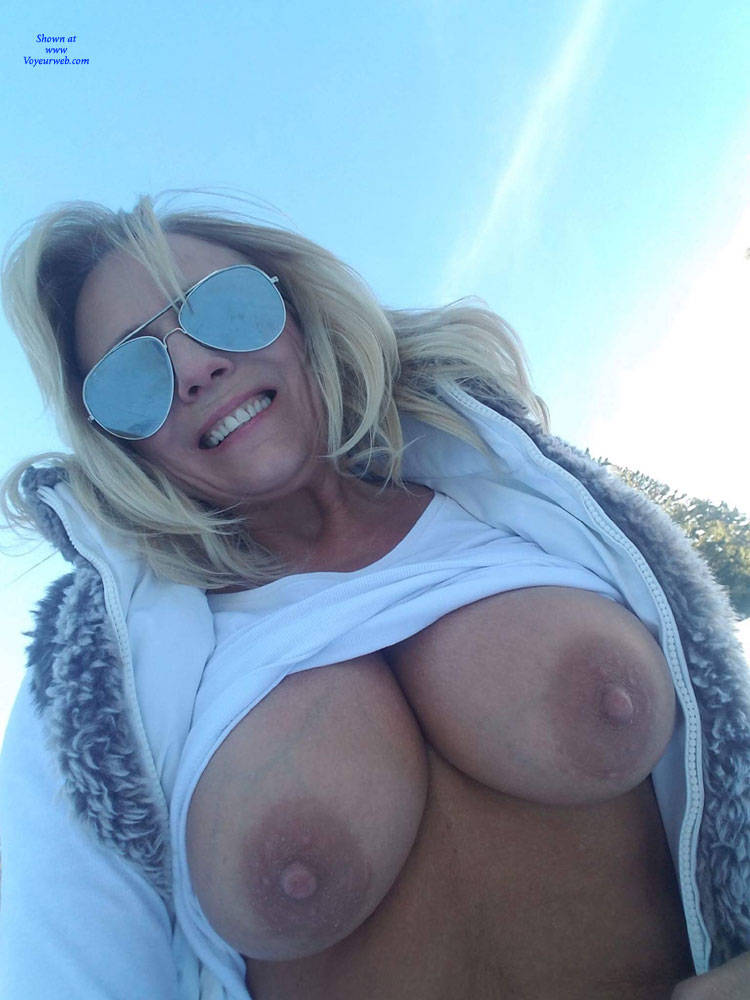 Tits In The Snow
