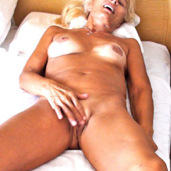 Not So Private Enjoyment - Big Tits, Blonde, Masturbation, Shaved, Nude Wives