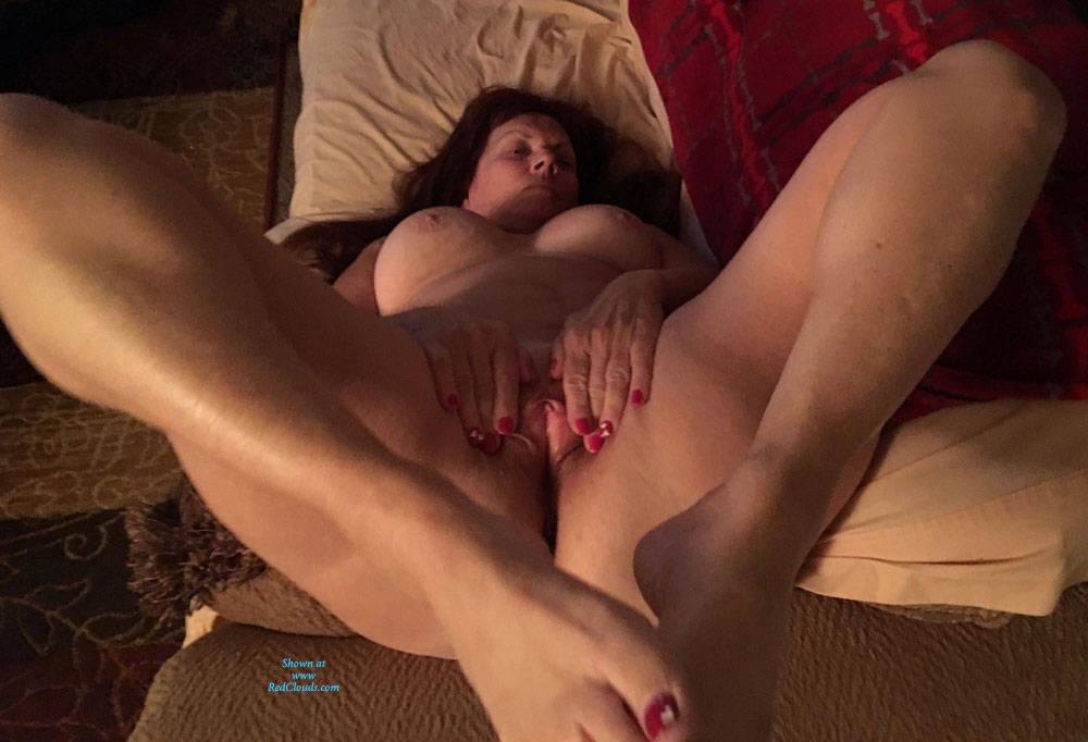 Pic #1Hot At 65 - Nude Amateurs, Big Tits, Brunette, Shaved, Mature