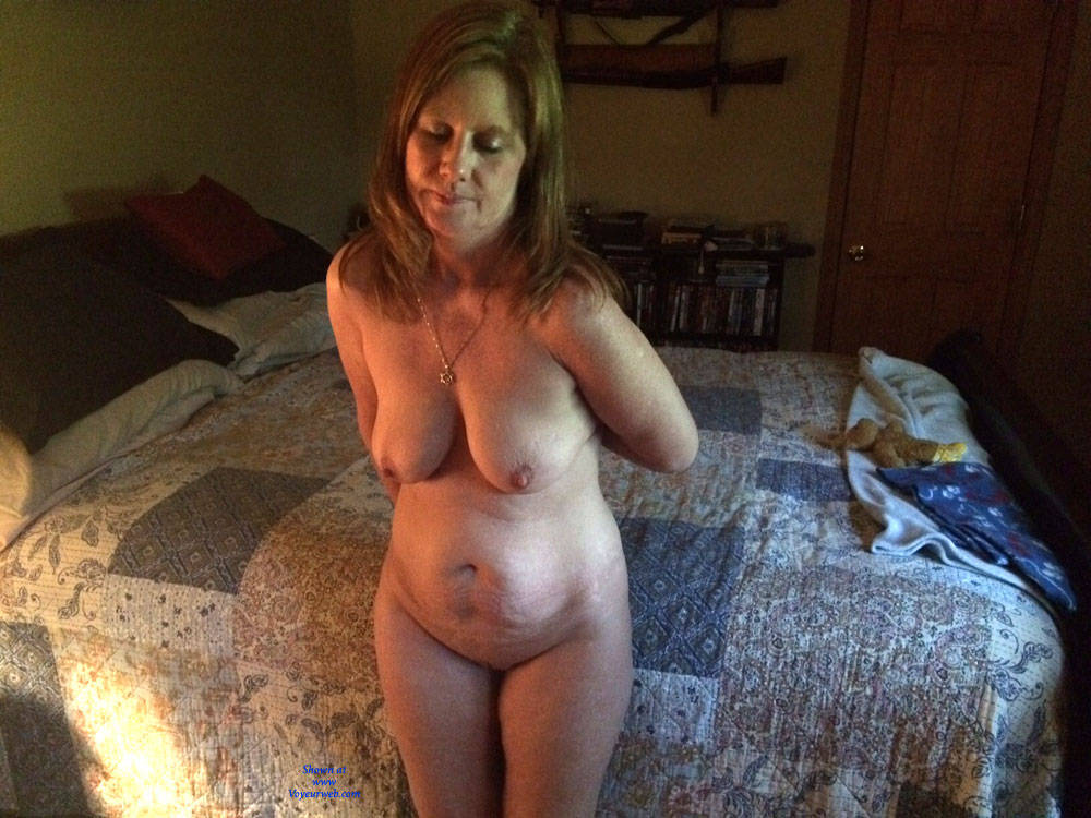 Wife working on farm nude