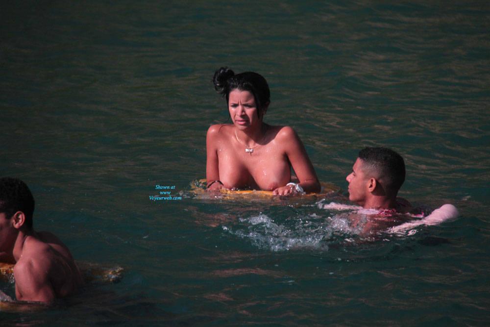 Pic #1Sea Trial - Big Tits, Brunette, Outdoors, Bikini Voyeur, Firm Ass, Beach Voyeur