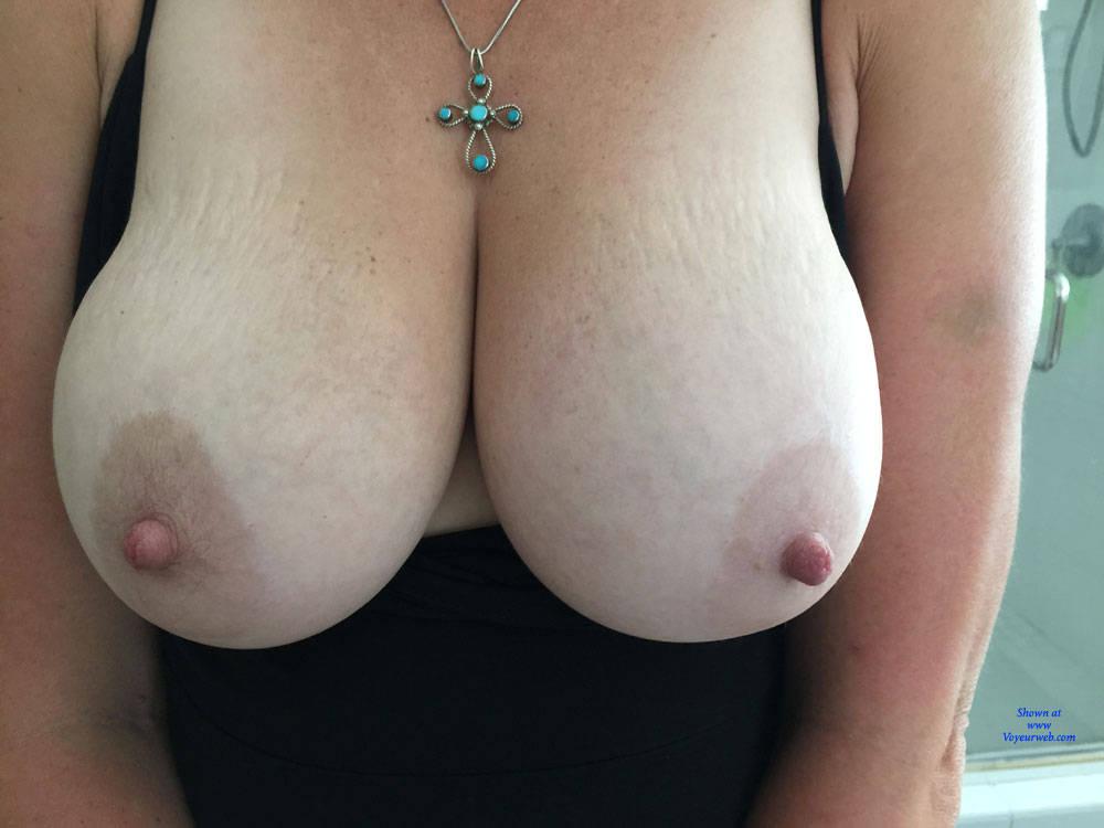 Big tits wife dressed as slut