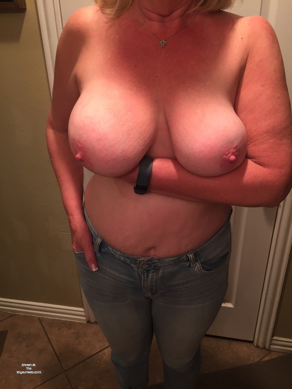 Wifes beautiful tits