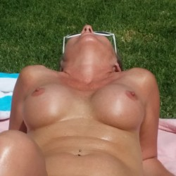 My large tits - Blond Milf