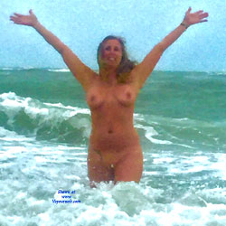 Loving The Beach - Nude Wives, Beach, Outdoors, Amateur