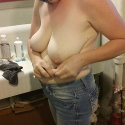 Large tits of my wife - Angela Morgan