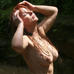 Sandy Body At The Creek - Big Tits, Exposed In Public, Full Nude, Hanging Tits, Nude In Nature, Nude In Public, Nude Outdoors, Perfect Tits, Redhead, Round Ass, Showing Tits, Wet, Hot Girl, Naked Girl, Sexy Ass, Sexy Body, Sexy Boobs, Sexy Face, Sexy Figure, Sexy Woman , Redhead, Naked, Big Tits, Shaved Pussy, Outdoors, Mud, Big Tits, Ass