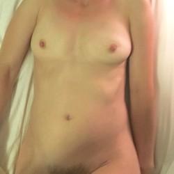 Medium tits of my wife - Christine